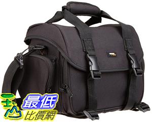 [106美國直購] AmazonBasics 行旅包 Large DSLR Gadget Bag (Orange interior)