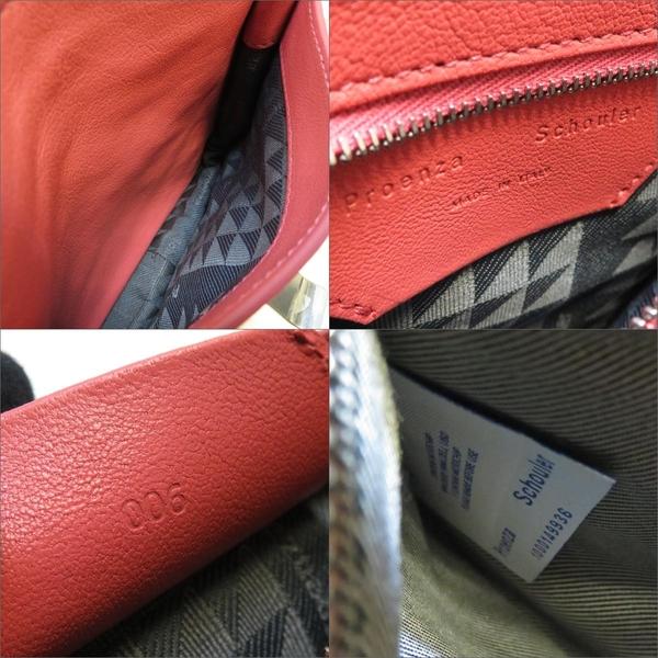 PROENZA SCHOULER PS1 Pouch 粉色牛皮斜背包 學院包【二手名牌BRAND OFF】