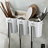 筷子籠置物架廚房壁掛式瀝水筷子筒