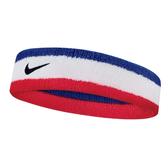Nike Swoosh Headband [N0001544620OS] 男女 簡約 頭帶 運動 休閒 毛巾 吸汗 藍紅