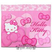 〔小禮堂〕Hello Kitty 中長門簾《粉.大臉.多蝴蝶結》85x72cm  4716873-52477