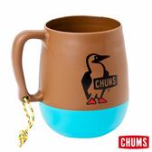 CHUMS 圓桶露營馬克杯 棕/藍綠 CH621047B014【GO WILD】