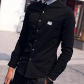 加絨襯衫-日式街頭率性時尚男長袖上衣3款8色72am10【巴黎精品】