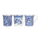 英國骨瓷小馬克杯-Blue Story花卉系列 (共三款花色可選)