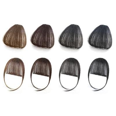 假瀏海(真髮)-空氣瀏海蓬鬆假髮片女假髮2款73uh38【時尚巴黎】