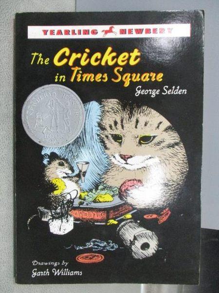 【書寶二手書T1/原文小說_MJE】The Cricket in Times Square