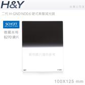 EGE 一番購】H&Y 二代 H-GND 硬式 Hard玻璃方形漸層鏡片 ND0.6 (ND4) 德國肖特玻璃【公司貨】