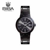法國 BIBA 碧寶錶 經典系列 藍寶石玻璃 石英錶 B32BS304B 黑色 - 35mm
