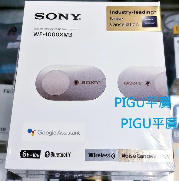 平廣 台灣公司貨 SONY WF-1000XM3 銀色 耳機 送袋 藍芽耳機 另售JAYBIRD SOL COWON
