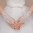 新娘婚紗短款手套韓式套