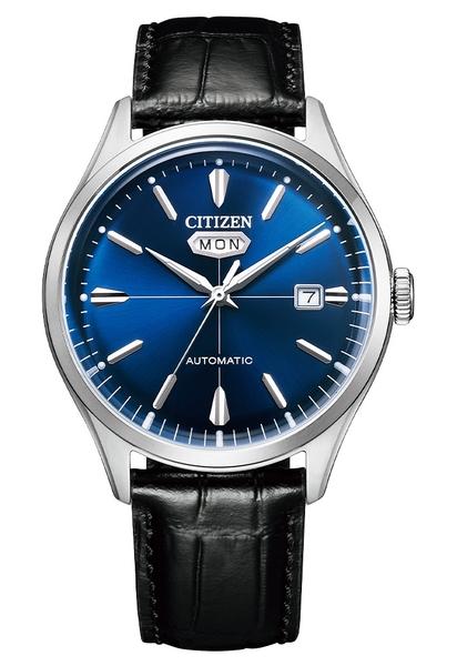 【分期0利率】星辰錶 CITIZEN 箱型鏡面 機械錶 40mm 原廠公司貨 NH8390-20L