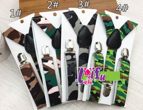 得來福,k889吊帶兒童吊帶三夾2.5cm男女背帶吊帶褲帶夾短版的,售價100元