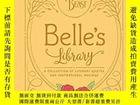 二手書博民逛書店Beauty罕見and the Beast: Belle's L