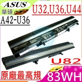 ASUS 電池(原廠最高規)-華碩 U32,U36,P32,P32VJ,P84,P84SG,PRO36,PRO36J,X36,X36S,X4M,A41-U36,A42-U36