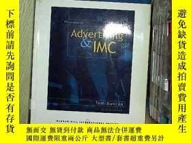 二手書博民逛書店Principles罕見of advertising&imc 廣