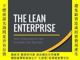 二手書博民逛書店The罕見Lean Enterprise: How Corporations Can Innovate Like
