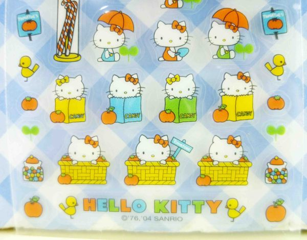 【震撼精品百貨】Hello Kitty 凱蒂貓~KITTY貼紙-鄉村