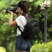 相機包 相機包雙肩單反攝影包數碼相機包專業輕便男女背包 傾城小鋪