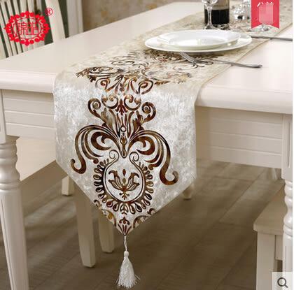 現代簡約時尚桌旗歐式奢華中式美式鄉村餐桌布布藝茶几布床旗
