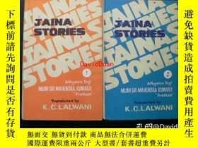 二手書博民逛書店Jaina罕見stories : as gleaned from canonical texts vol.1 vo