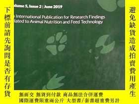 二手書博民逛書店罕見Animal Nutrition 動物營養(英文版)2019