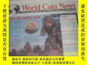 二手書博民逛書店World罕見Coin News(Vol.23, 1996年第1