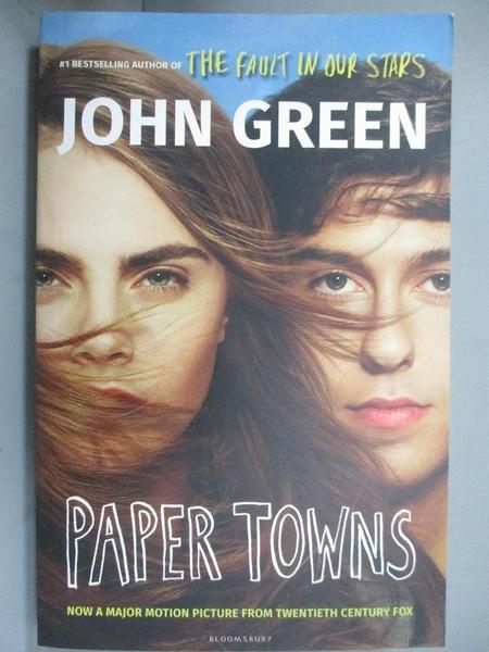 【書寶二手書T4/原文小說_G7M】Paper Towns_GREEN JOHN