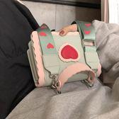 網紅手提小包包女包新款2019夏天小清新流行的單肩斜挎包百搭ins-ifashion