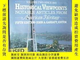二手書博民逛書店Historical罕見viewpoints notable a