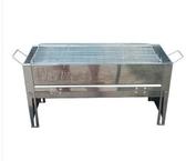 燒烤爐子折疊家用戶外便攜燒烤架不銹鋼燒烤架3-5人野餐爐具木炭