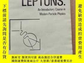 二手書博民逛書店quarks罕見& leptons:an introductory course in modern partic