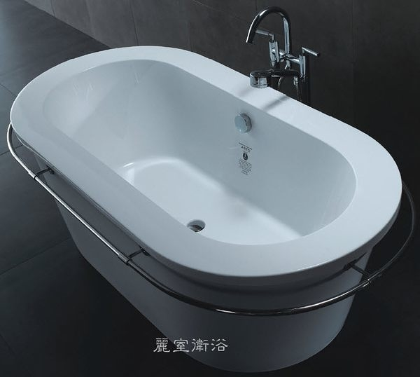 【麗室衛浴】ARTO 現代感獨立 特大 造型浴缸 190*100(含毛巾桿)