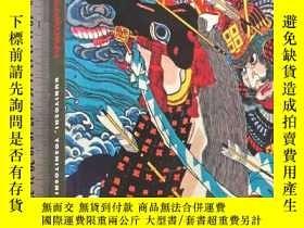 二手書博民逛書店野蠻的薩穆拉戰士版畫罕見THE SAVAGE SAAMURAI