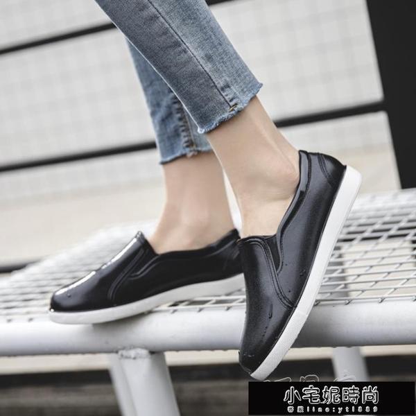 雨鞋 低筒雨鞋女士軟底水鞋女雨靴短筒時尚外穿防水鞋家居廚房防滑膠鞋 小宅妮