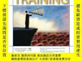 二手書博民逛書店Presentation罕見Skills Training (astd Trainer s Workshop) (