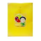【HFPWP】10元 黃色立體直式文件袋 台灣製 CKB118-3