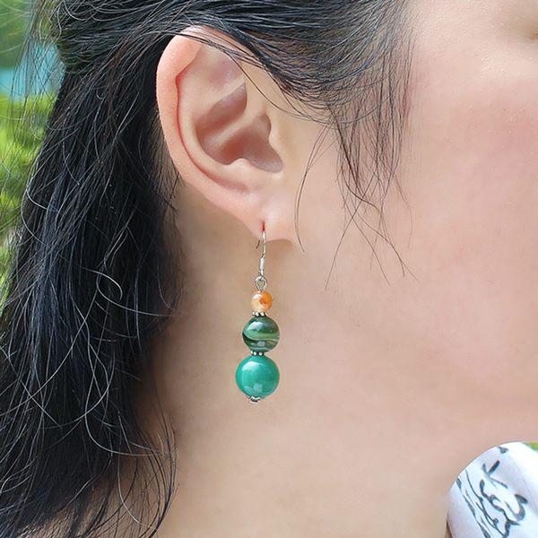 絕色風華系列耳環- 絕韻 石頭記