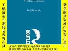 二手書博民逛書店Theoretical罕見Studies Towards A Sociology Of LanguageY25