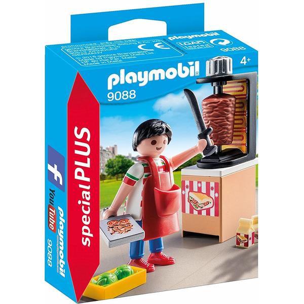 特價 playmobil 沙威瑪店員_PM09088