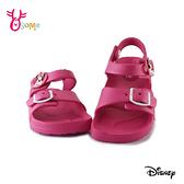 米妮兒童涼鞋 女童涼鞋 防水涼鞋 休閒涼鞋 迪士尼 MIT台灣製 J6612#桃紅◆OSOME奧森鞋業