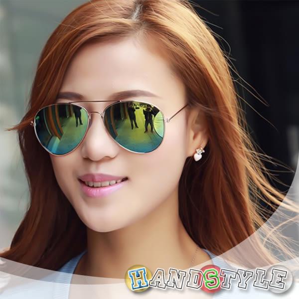 炫彩潮流經典設計造型眼鏡【026690】韓飾代【HandStyle】(附眼鏡盒)