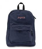 JANSPORT (促銷價) 校園後背包 基本款-深藍-43501