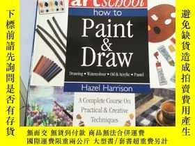 二手書博民逛書店artscbool罕見how to Paint Draw Dra