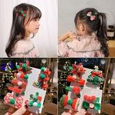 圣誕節兒童髮夾頭飾女童寶寶雪人圣誕樹帽裝飾蝴蝶結夾子髮飾髮卡促銷好物