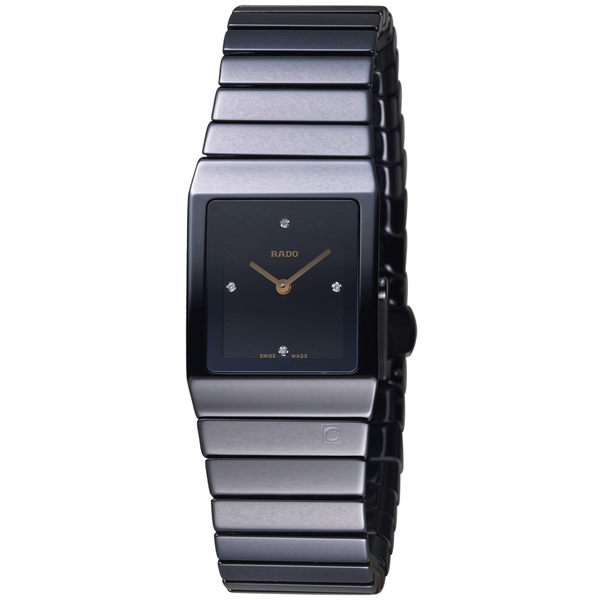 Rado雷達錶Ceramic系列極簡陶瓷腕錶    R21702722