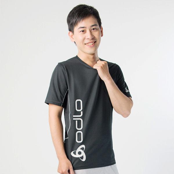Odlo圓領短袖T恤 男 黑 391432