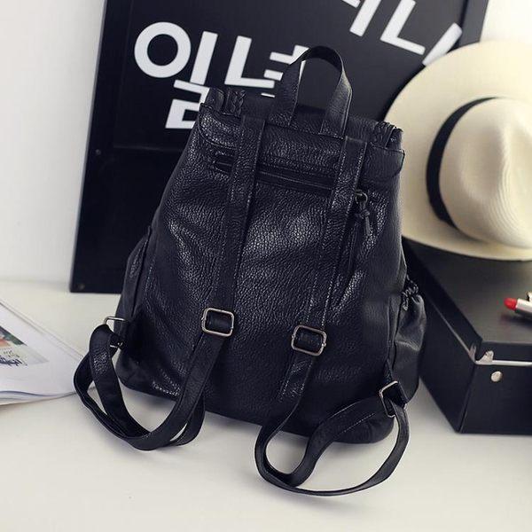 後背包  韓版時尚旅行PU皮 鉆釘