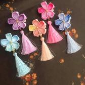 兒童配飾女童中國風頭飾唐裝流蘇髮夾女寶寶和風旗袍拍照古裝-享家生活館