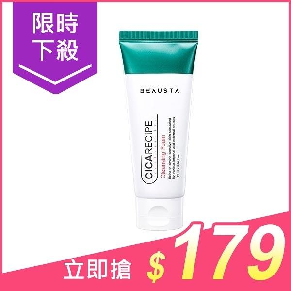 韓國 Beausta Cica Recipe積雪草彈力洗面乳(100ml)【小三美日】$199