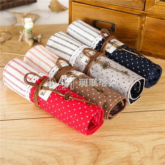 文具盒韓國風個性創意時尚捲簾筆袋文具盒小清新男女款 瑪奇哈朵